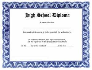 0B406 Ged Diploma Template | Wiring Resources in Ged Certificate Template Download