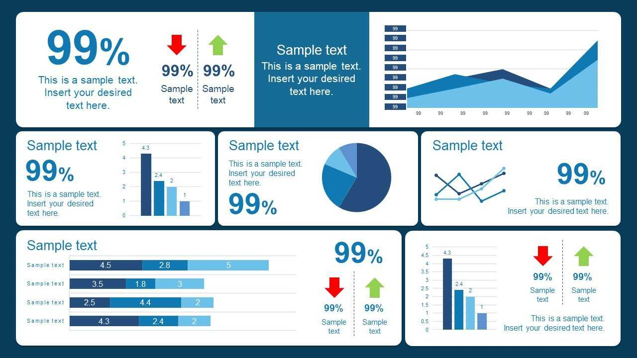 10 Best Dashboard Templates For Powerpoint Presentations For Project Dashboard Template Powerpoint Free