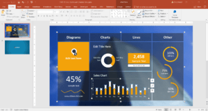 10 Best Dashboard Templates For Powerpoint Presentations within Project Dashboard Template Powerpoint Free