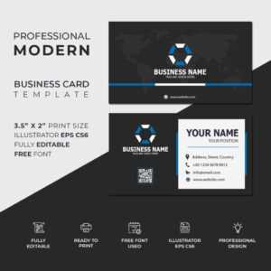 10 Free Business Card Template | Free Download within Professional Business Card Templates Free Download