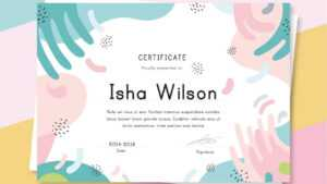 10 Free Colorful Certificate Templates – Ai & Eps – Super within Halloween Certificate Template