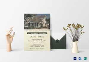 10+ Modern Housewarming Invitation Templates | Free pertaining to Free Housewarming Invitation Card Template
