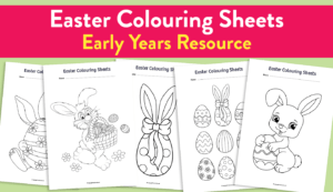 10 Of The Best Easy Easter Craft Ideas And Resources For for Easter Card Template Ks2