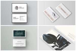 10 Unique Business Card Templates To Stand Out From The regarding Card Stand Template
