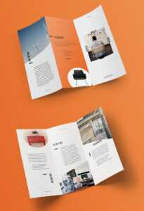 100 Best Indesign Brochure Templates regarding Brochure Template Indesign Free Download