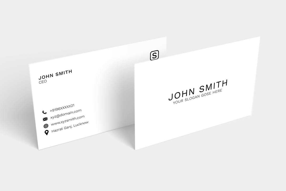 100 + Free Business Cards Templates Psd For 2019 – Syed Intended For Free Business Card Templates In Psd Format