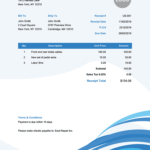 100 Free Receipt Templates | Print & Email Receipts As Pdf intended for Fake Credit Card Receipt Template