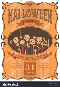 100+ [ Halloween Newsletter Template ] | Halloween Template with regard to Halloween Certificate Template