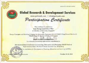 100+ [ International Conference Certificate Templates within International Conference Certificate Templates