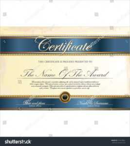 100+ [ Internship Certificate Template ] | 100 Small with regard to Small Certificate Template