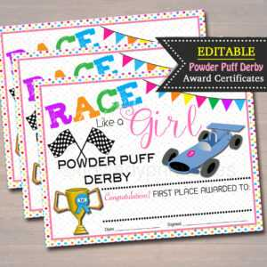 100+ [ Pinewood Derby Certificate Templates ] | Pinewood pertaining to Pinewood Derby Certificate Template