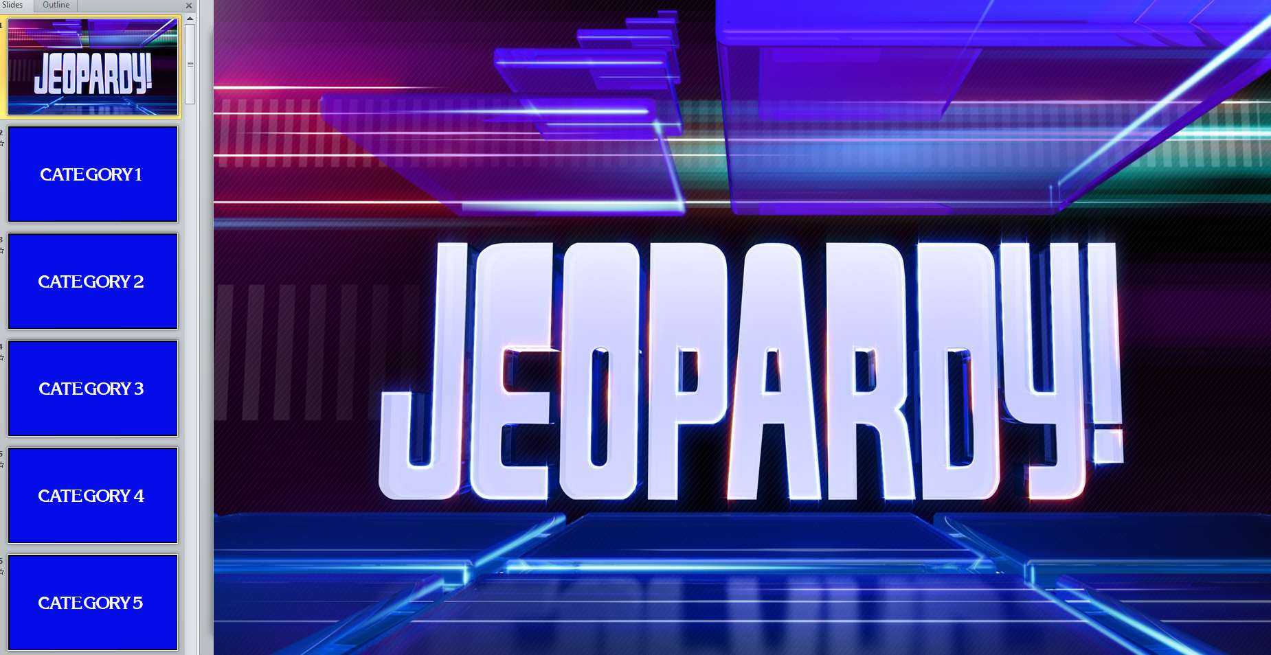 11 Best Free Jeopardy Templates For The Classroom Within Jeopardy Powerpoint Template With Score