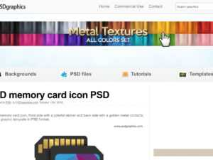 11 Best Sites To Find Free Psd Templates For Photoshop with Business Card Size Psd Template