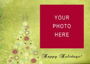 11 Christmas Card Templates Free Download Images – Christmas intended for Christmas Photo Cards Templates Free Downloads