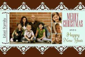 11 Free Templates For Christmas Photo Cards regarding Free Christmas Card Templates For Photographers