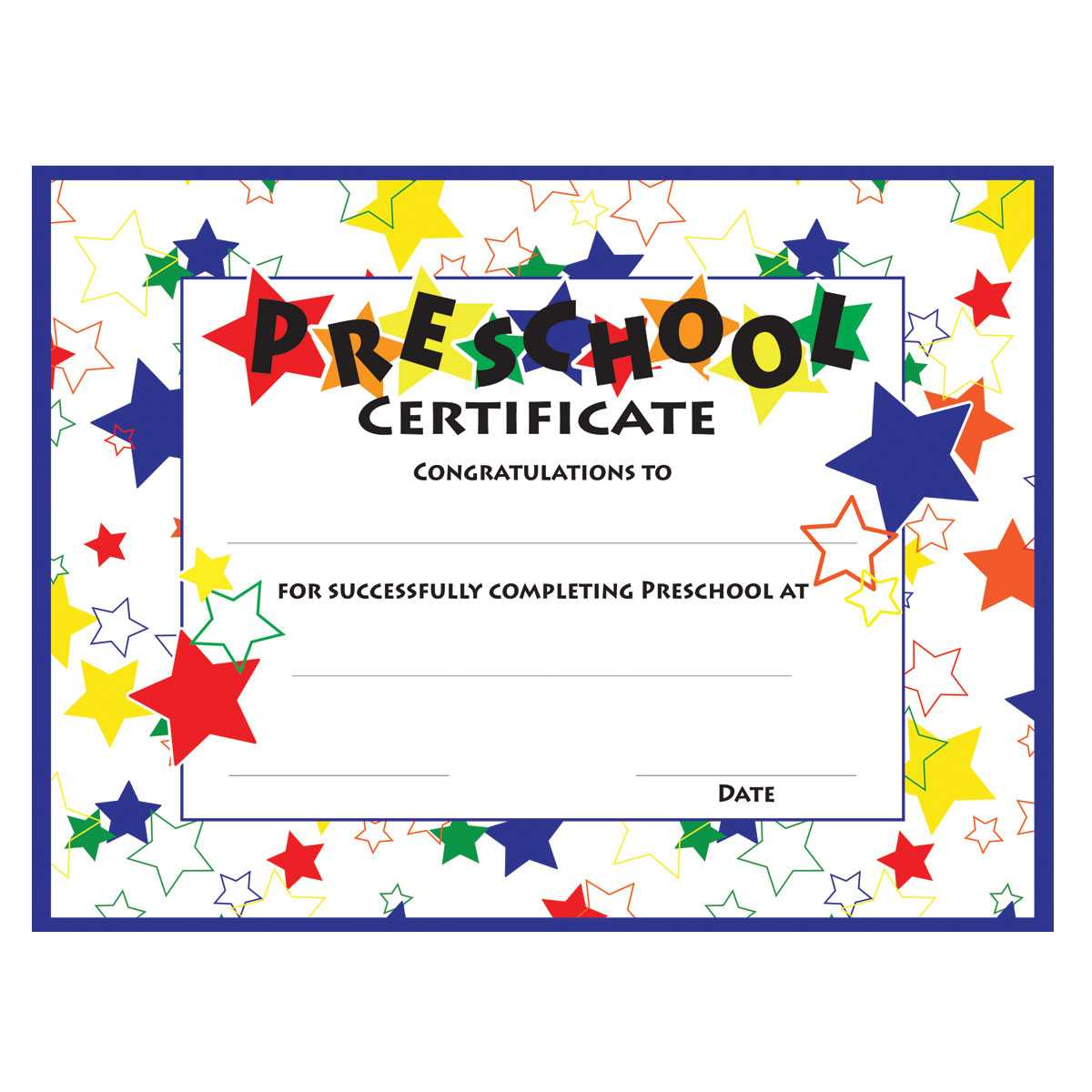 11+ Preschool Certificate Templates - Pdf | Free & Premium Pertaining To Preschool Graduation Certificate Template Free