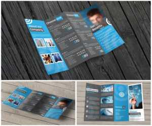 11X17 Quad-Fold Brochure Printing throughout Quad Fold Brochure Template
