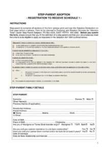 12+ Adoption Paper Templates – Pdf | Free & Premium Templates intended for Child Adoption Certificate Template