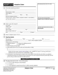 12+ Adoption Paper Templates – Pdf | Free & Premium Templates with Child Adoption Certificate Template