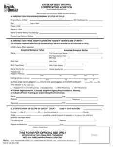 12+ Adoption Paper Templates – Pdf | Free & Premium Templates with regard to Child Adoption Certificate Template
