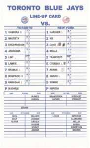 12 Baseball Lineup | Radaircars Regarding Dugout Lineup Card Template