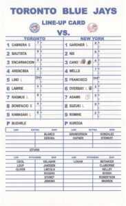 12 Baseball Lineup | Radaircars regarding Dugout Lineup Card Template