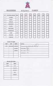 12 Baseball Lineup | Radaircars with Baseball Lineup Card Template