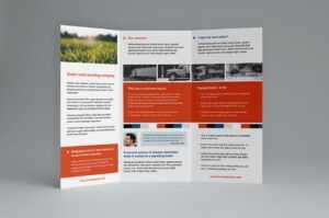 12 Free Tri Fold Brochure Template | Radaircars in Free Three Fold Brochure Template