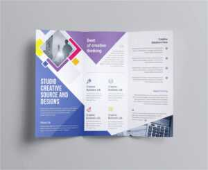 12 Tri Fold Brochure Template Free | Radaircars for Open Office Brochure Template