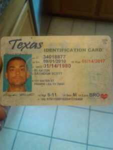 13 Best Texas Id Card Template For Ms Wordtexas Id Card within Texas Id Card Template