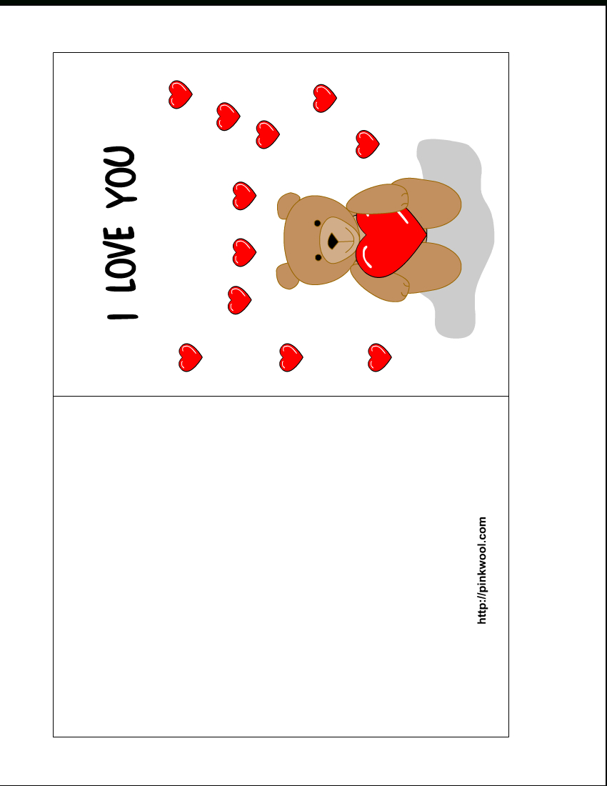 13 Free Card Templates For Printing Images - Valentine's Day With Free Templates For Cards Print