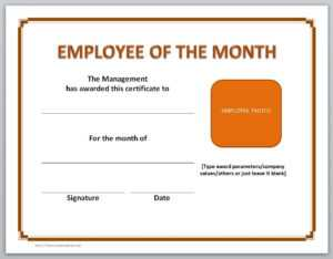 13 Free Certificate Templates For Word » Officetemplate in Employee Of The Year Certificate Template Free