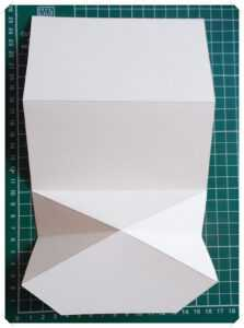 14 Craft Bar: Diamond Fold Card – Tutorial with Fold Out Card Template