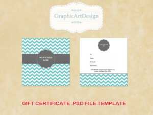 14 Photography Gift Certificate Psd Template Images for Gift Certificate Template Photoshop