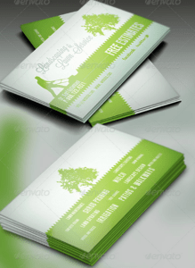 15+ Landscaping Business Card Templates – Word, Psd | Free inside Gardening Business Cards Templates