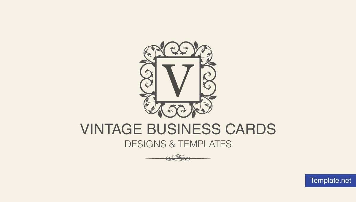 15+ Vintage Business Card Templates - Ms Word, Photoshop Throughout Free Business Cards Templates For Word