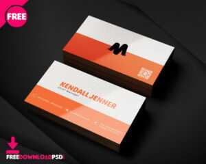150+ Free Business Card Psd Templates throughout Business Card Template Photoshop Cs6
