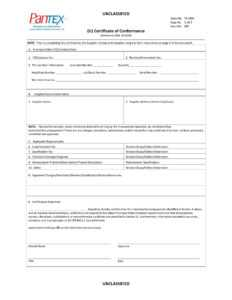 16+ Certificate Of Conformance Example – Pdf, Word, Ai regarding Certificate Of Conformity Template