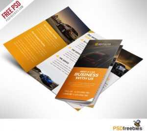 16 Tri-Fold Brochure Free Psd Templates: Grab, Edit & Print regarding Brochure Psd Template 3 Fold