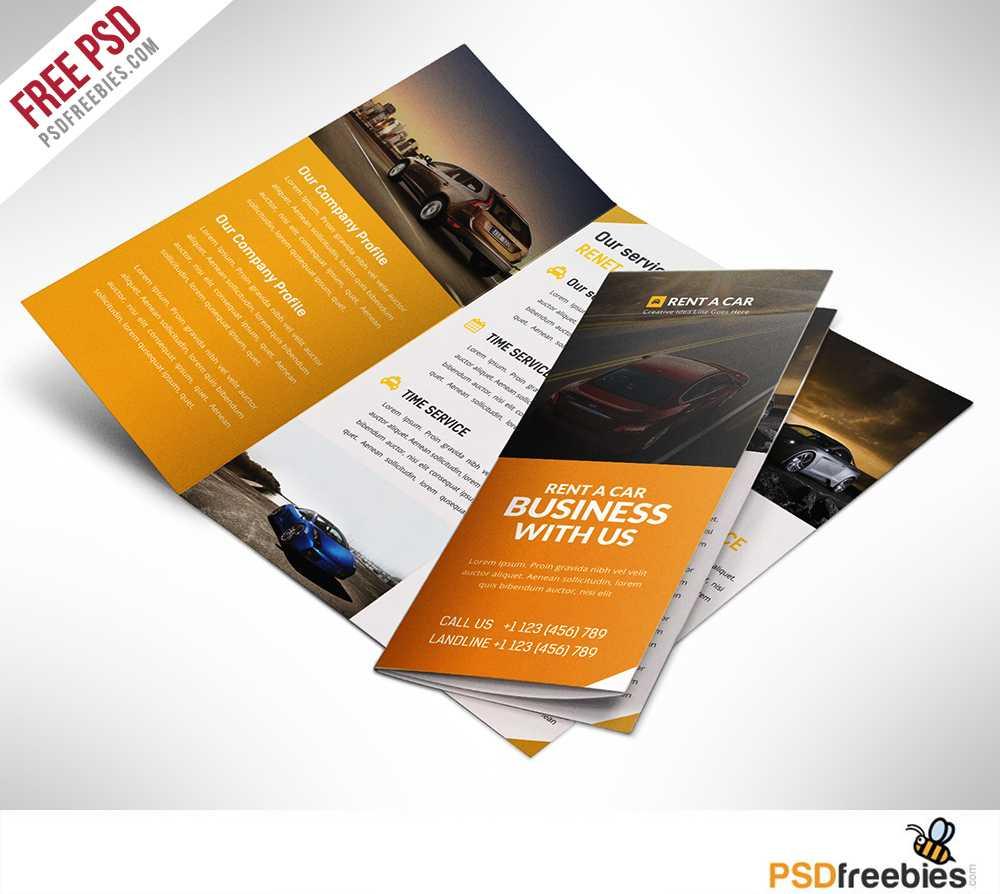 16 Tri Fold Brochure Free Psd Templates: Grab, Edit & Print Regarding Brochure Psd Template 3 Fold