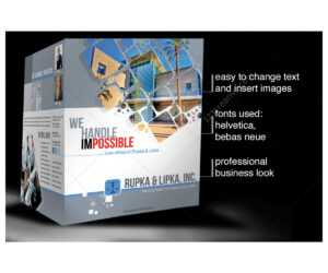 2 Pages Corporate Brochure Template For Construction with regard to Engineering Brochure Templates