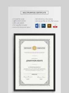 20 Best Free Microsoft Word Certificate Templates (Downloads pertaining to Microsoft Office Certificate Templates Free