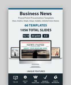 20 Best Free News & Newspaper Powerpoint Templates (Ppt with Newspaper Template For Powerpoint