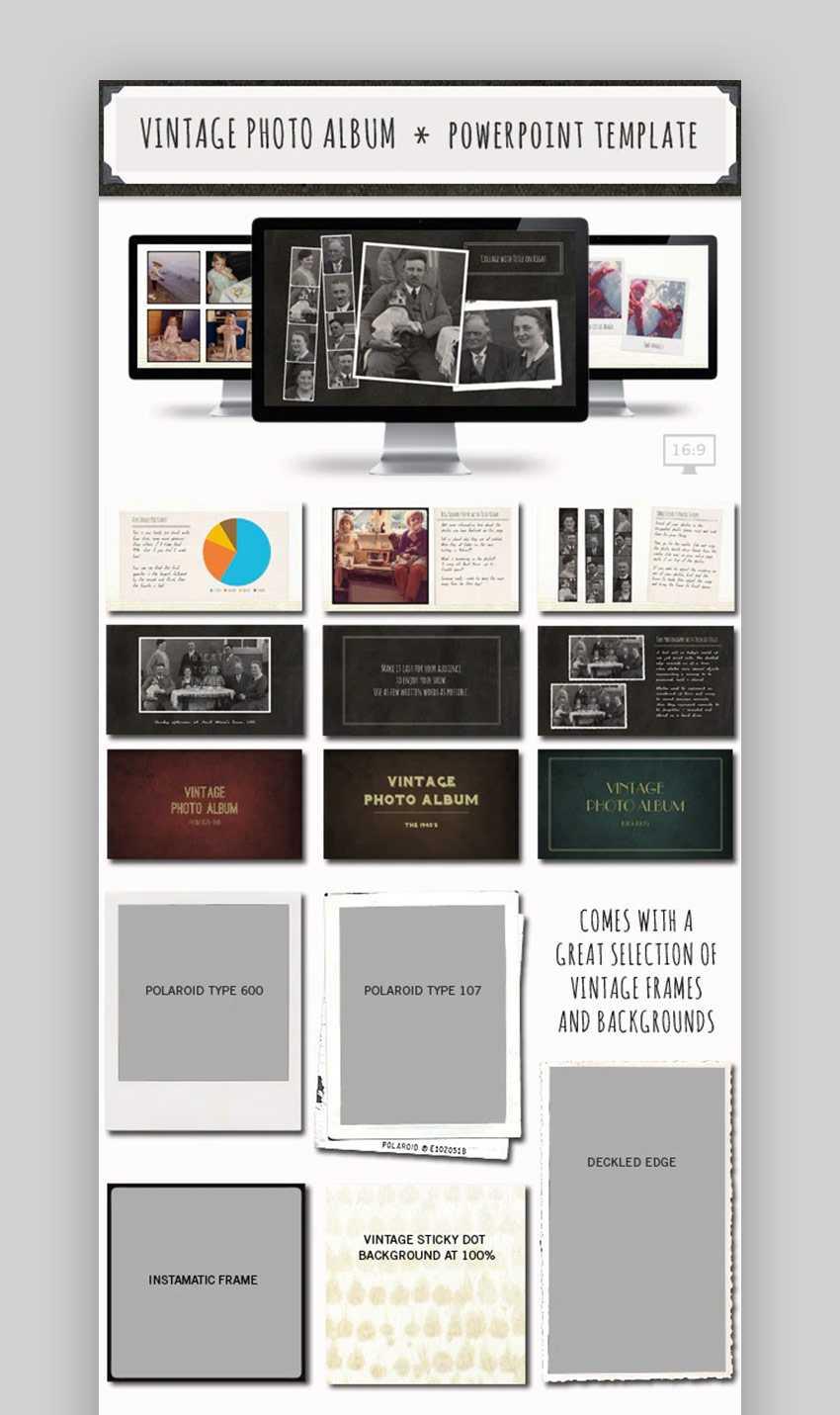 20 Best Free Powerpoint Photo Album & Ppt Slideshow Intended For Powerpoint Photo Album Template