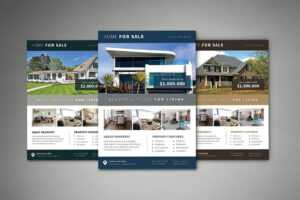 20+ Best Real Estate Flyer Templates 2020 – Creative Touchs in Real Estate Brochure Templates Psd Free Download