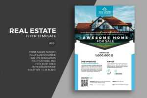 20+ Best Real Estate Flyer Templates 2020 – Creative Touchs with regard to Real Estate Brochure Templates Psd Free Download