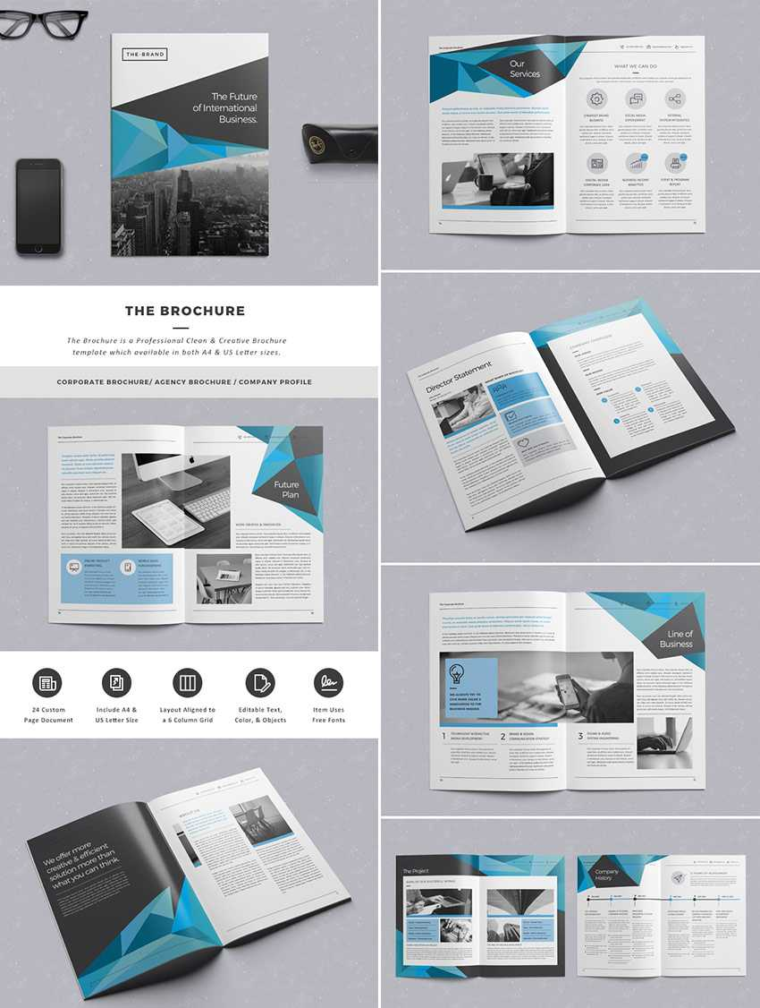 20 Кращих Шаблонів Indesign Brochure - Для Творчого Intended For Adobe Indesign Brochure Templates