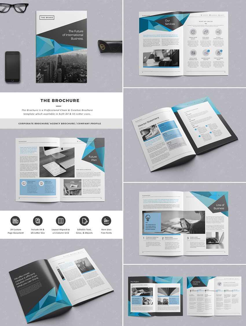 20 Кращих Шаблонів Indesign Brochure - Для Творчого Pertaining To Brochure Template Indesign Free Download