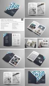 20 Кращих Шаблонів Indesign Brochure – Для Творчого with Letter Size Brochure Template