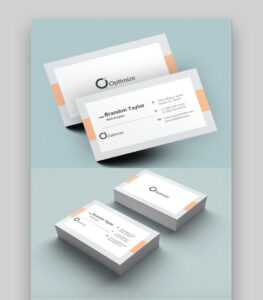 20+ Double-Sided, Vertical Business Card Templates (Word, Or with Double Sided Business Card Template Illustrator
